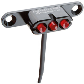 Supernova Airstream Tail Light 2 Bike Light Luggage support red/black